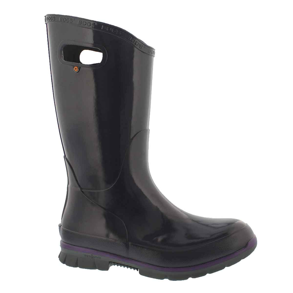 Women's BERKLEY eggplant waterproof rain boots