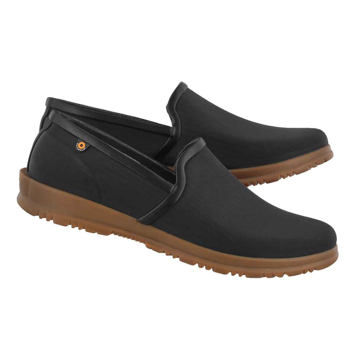 Lds Sweetpea black waterproof slip on