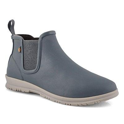 Lds Sweetpea misty gray waterproof boot