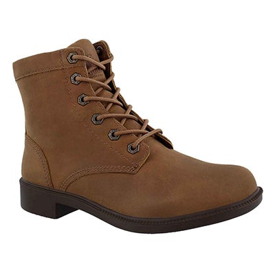 Lds Original crml wtpf laceup ankle boot