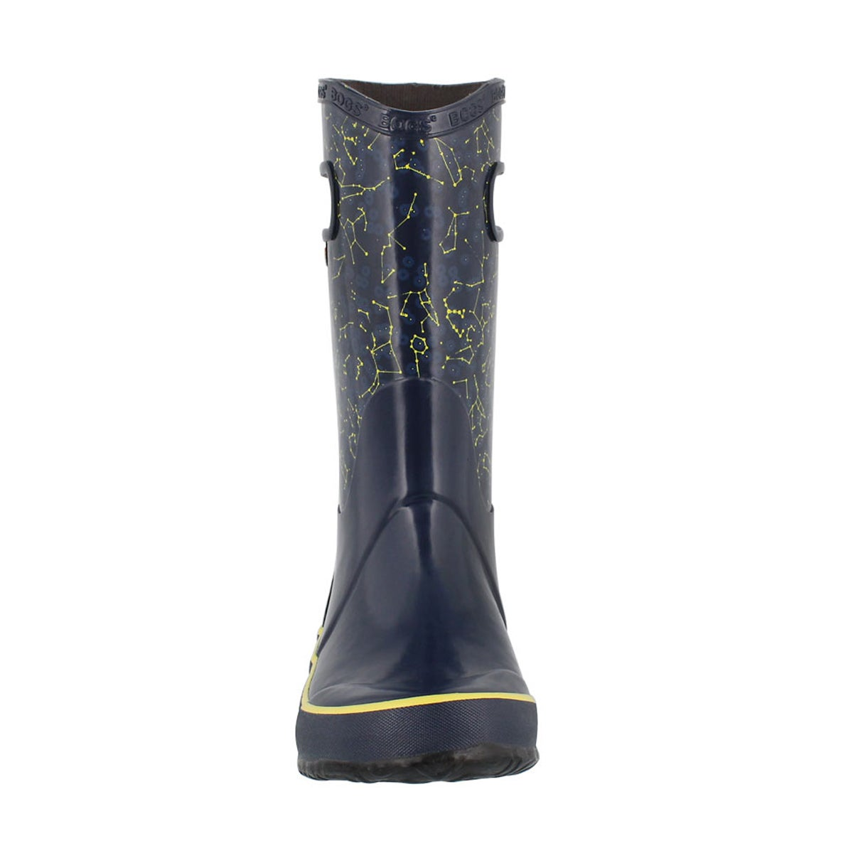 Kds Constellations blu multi rain boot