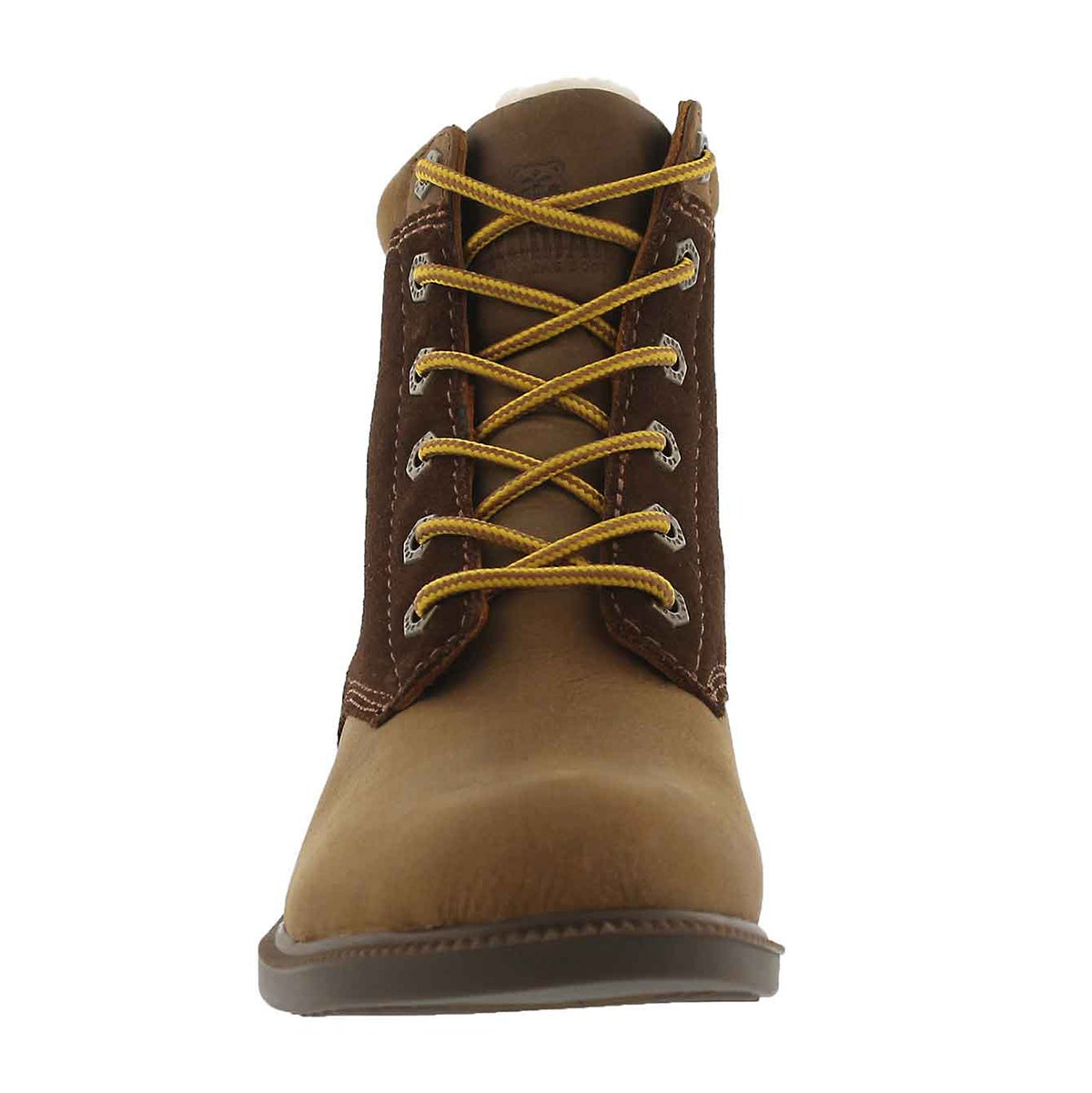 Lds Original Fleece wheat wp laceup boot