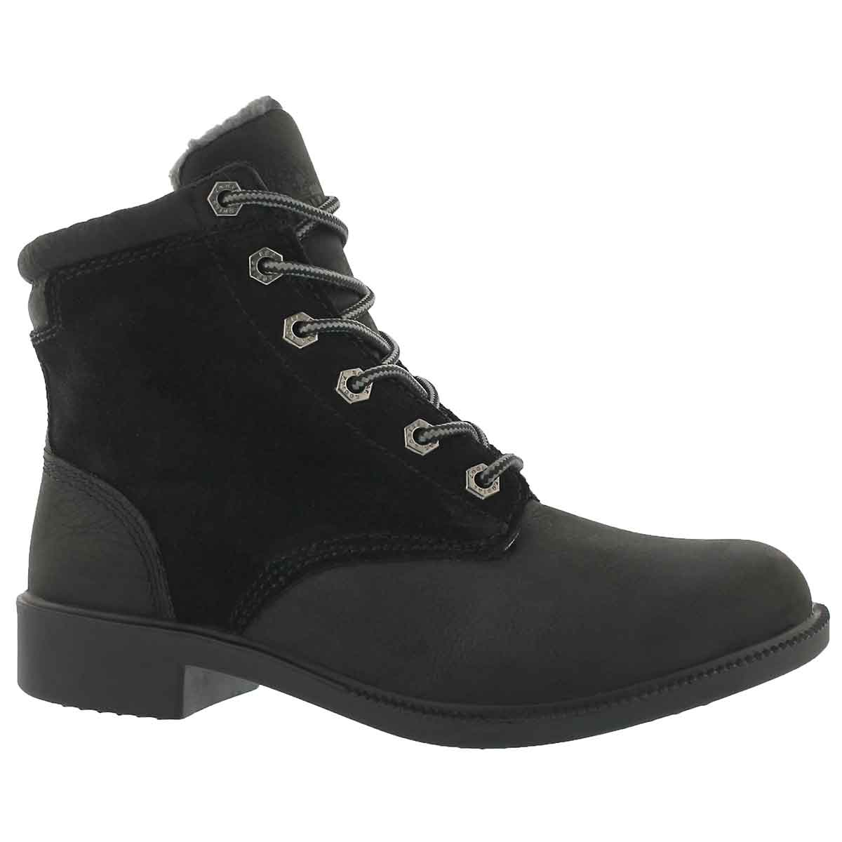 Women's ORIGINAL FLEECE waterproof lace up boots