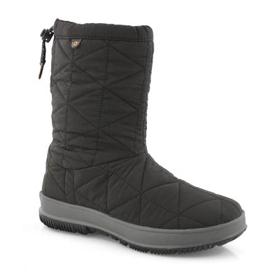 Lds Snowday Mid black wtpf boot