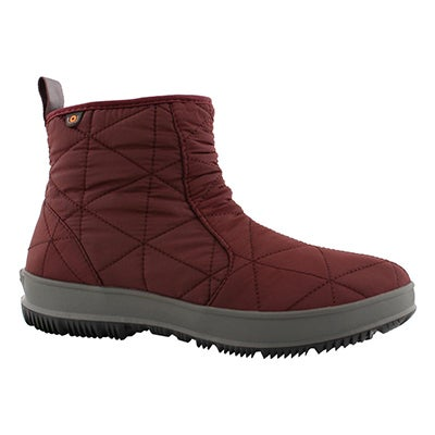 Lds Snowday Low wine wtpf boot