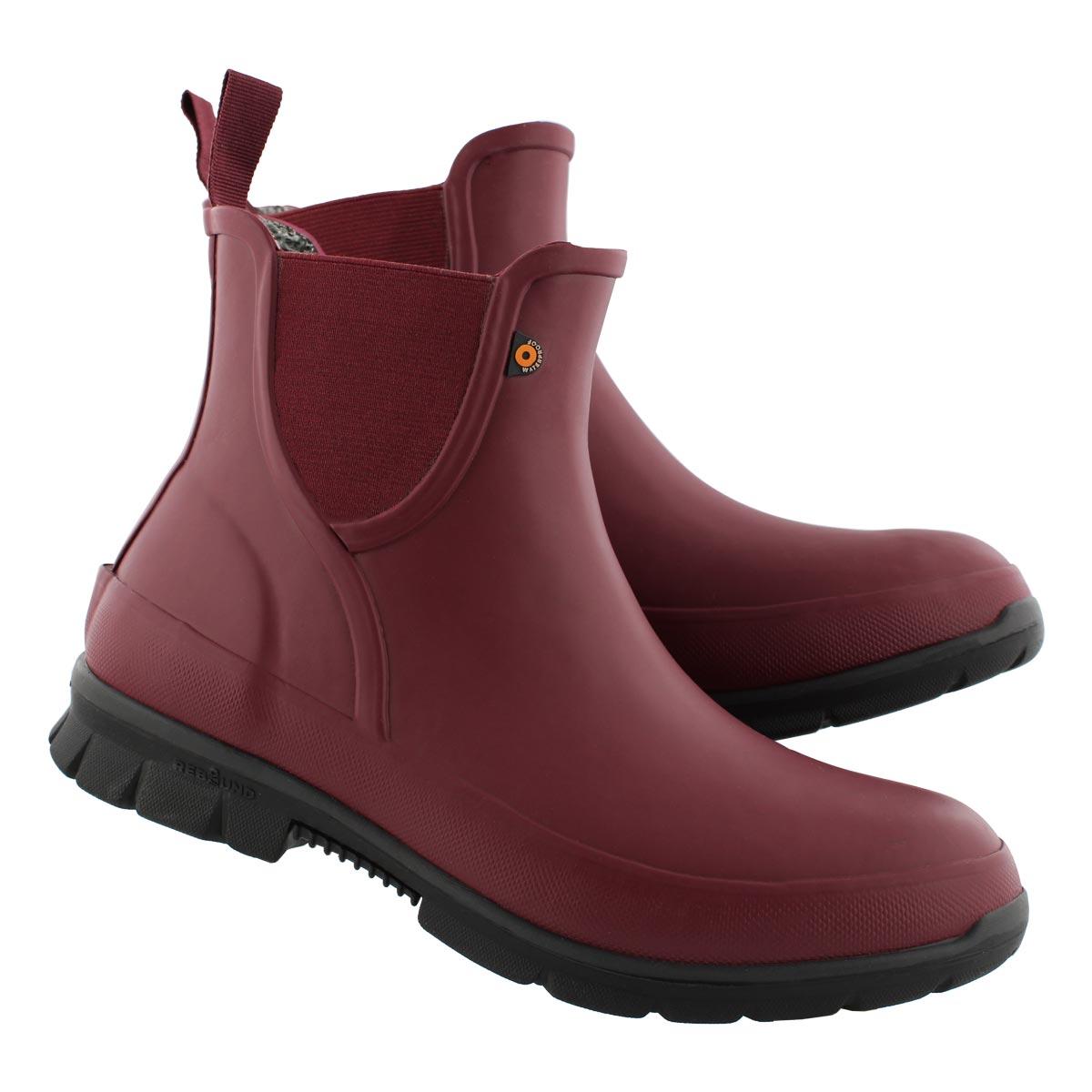 Lds Amanda Plush bgdy wtpf chelsea boot