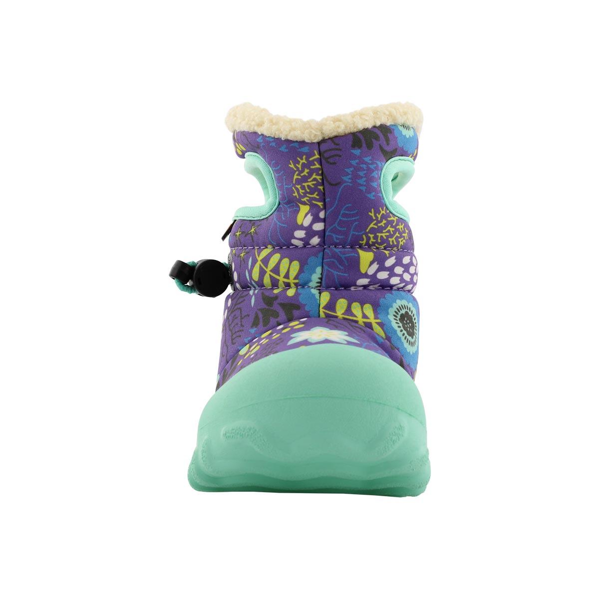 Inf-g B-Moc Reef purple mlti wtpf boot