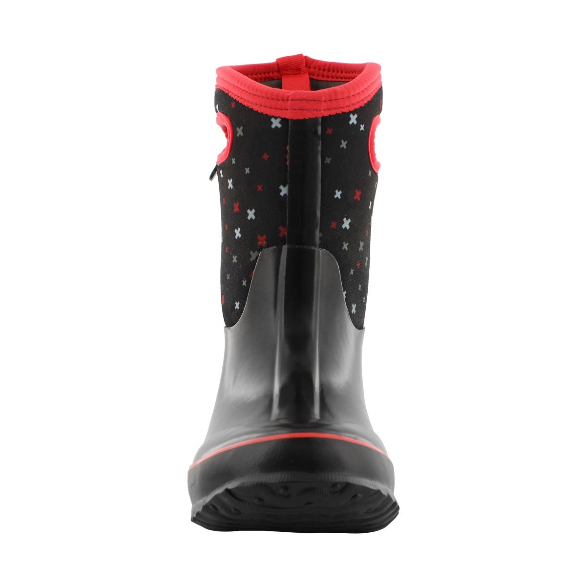 Grls Classic Plus black multi wtpf boot
