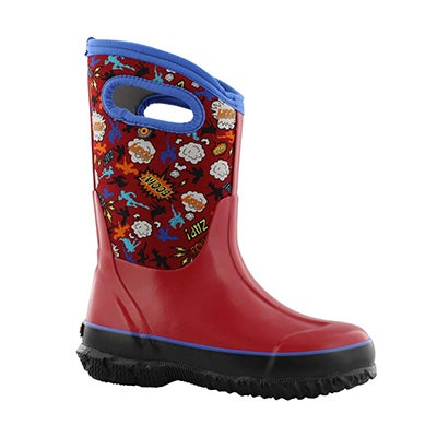 Bys Classic Super Hero red mlt wtpf boot