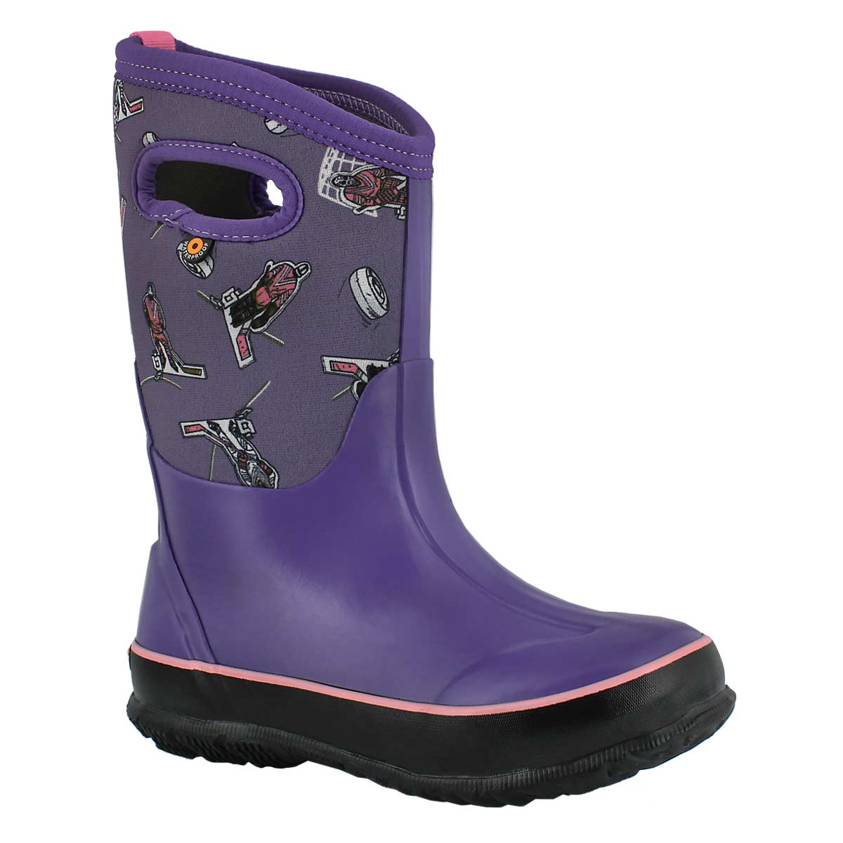 Grls Classic Hockey ppl wtpf winter boot