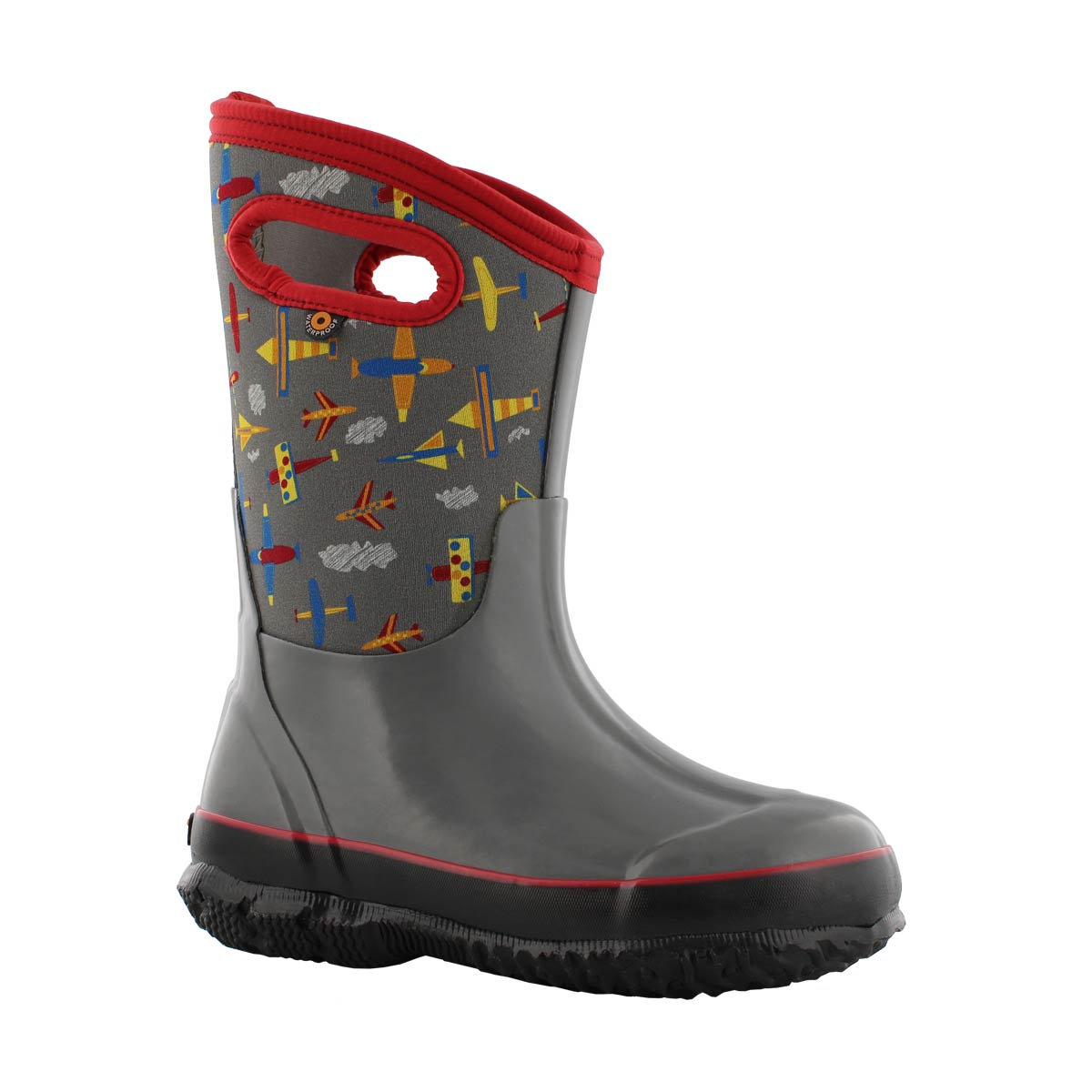 Bys Classic Planes gry mlt wtpf boot