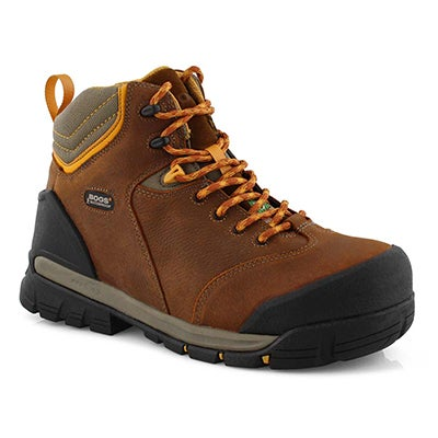 Mns Bedrock Mid PP CSA wtpf brown boot