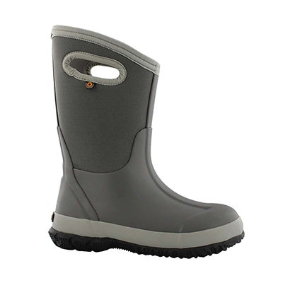 Bys Classic Matte lt gry wtpf wntr boot