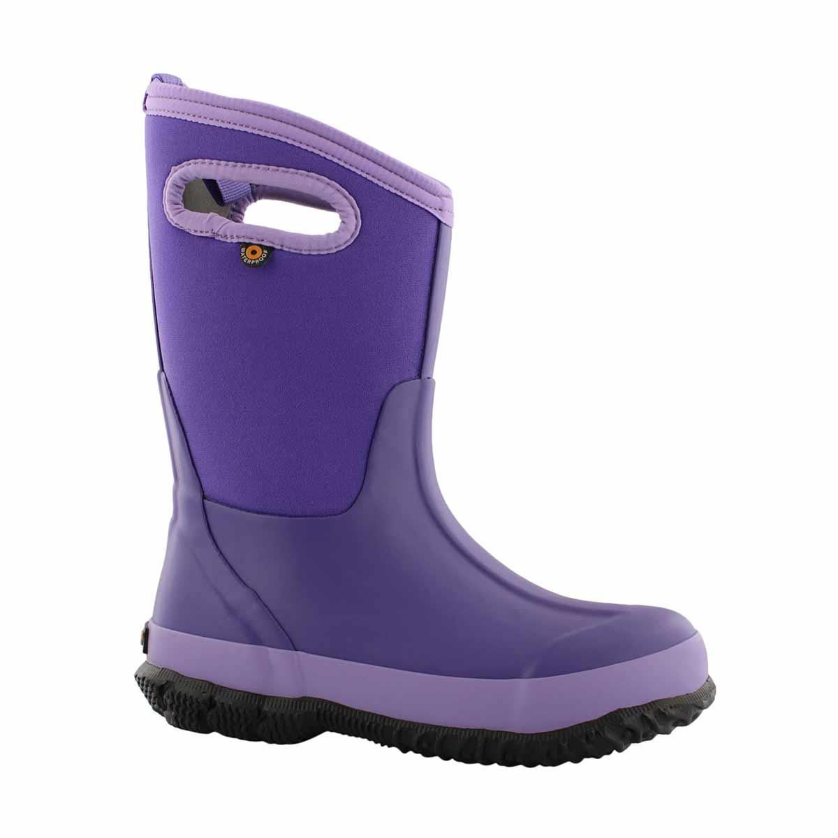 Grls Classic Matte violet wtpf wntr boot