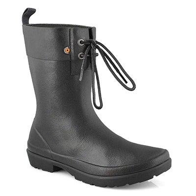 Lds Flora 2 Eye black rain boot