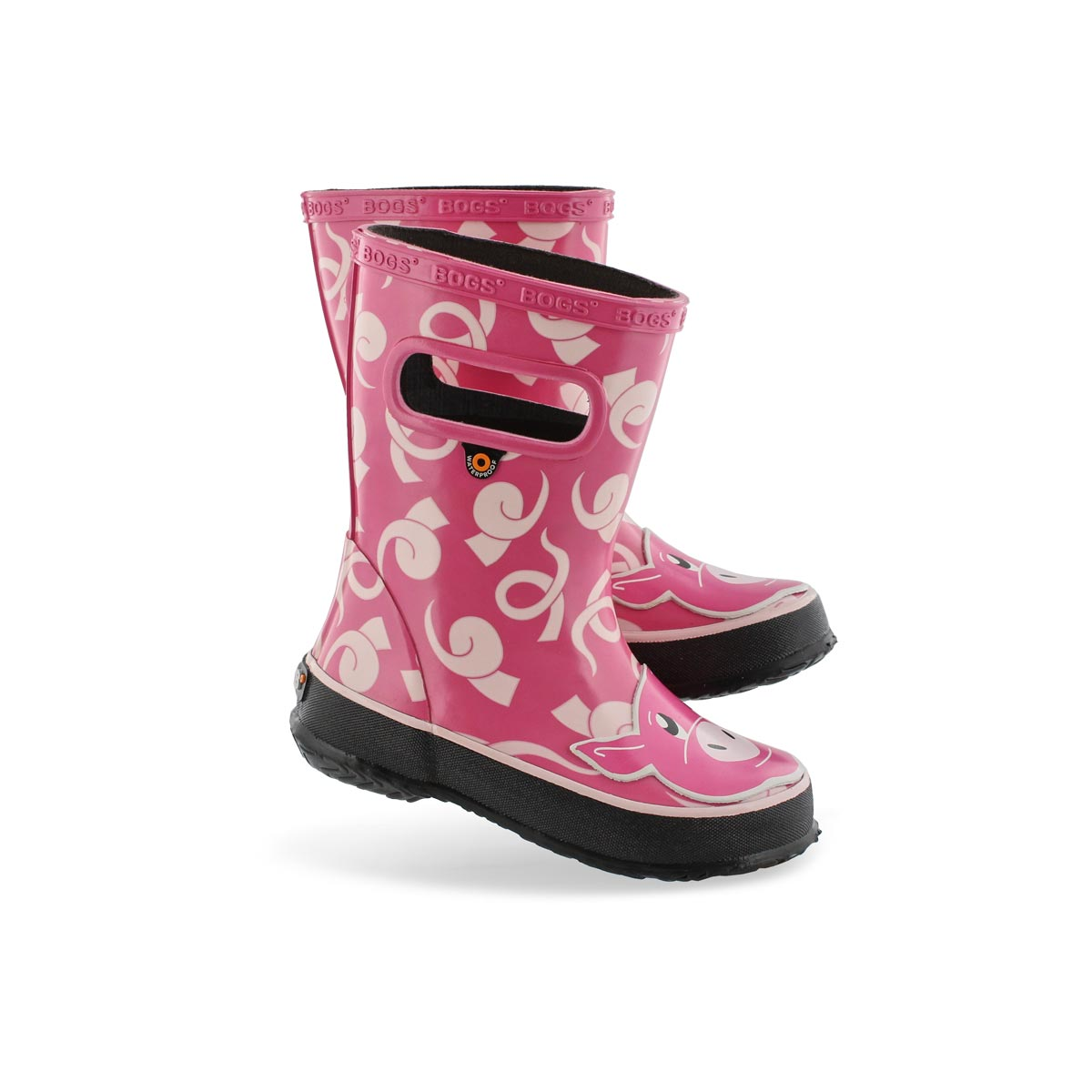 Inf-g Skipper Animals pig pnk mlti boot