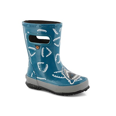 Inf-b Skipper Animals shrk blu mlti boot