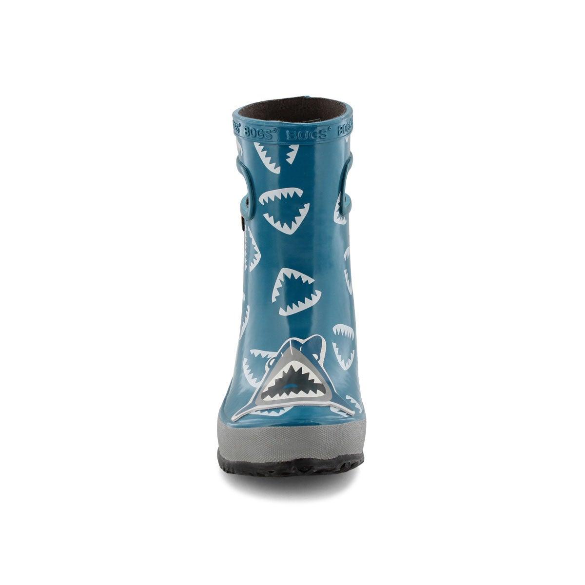 Inf-b Skipper Animals shrk blu mlti boot