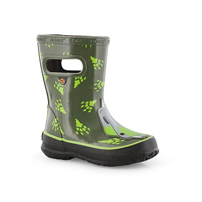 Inf-b Skipper Animals dino grn mlti boot