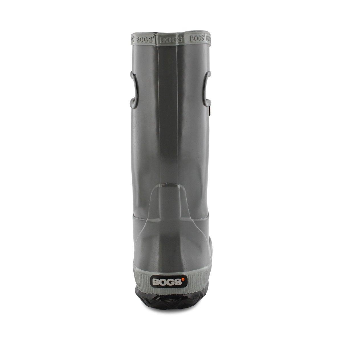 Kds Rain Boot Solid gry rain boot