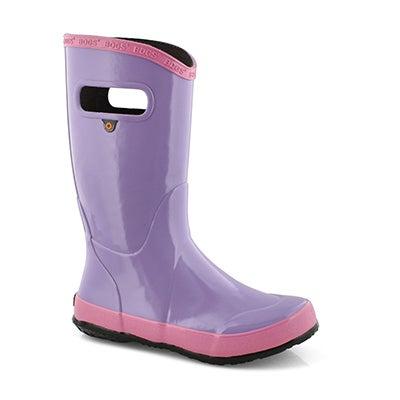 Grls Rain Boot Solid vio mlti rain boot