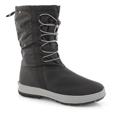 Lds Snownights black wtpf winter boot