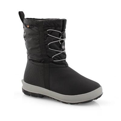 Grls Snownights black wtpf boot