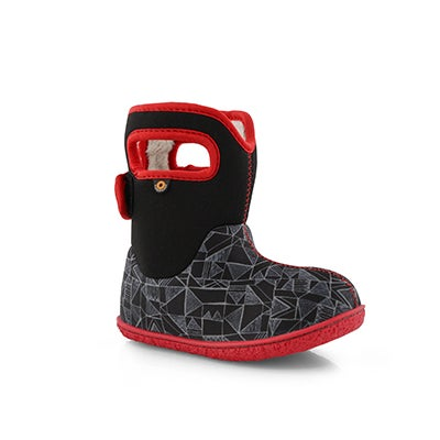 Inf-b Baby Bogs Maze Geo bk mlti wp boot