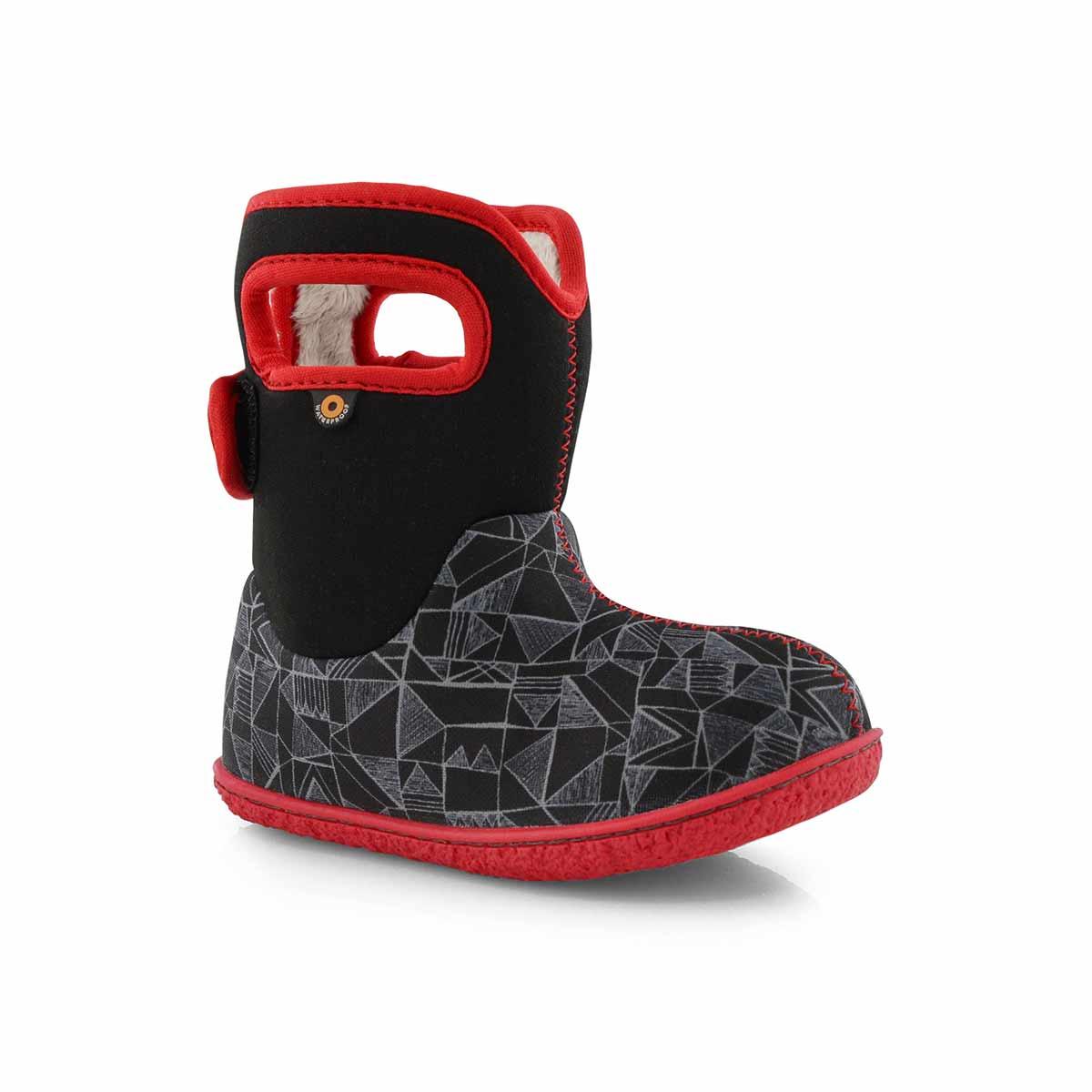Bogs Outdoor Boots Boys Baby Maze Geo Waterproof Insulated 72464I