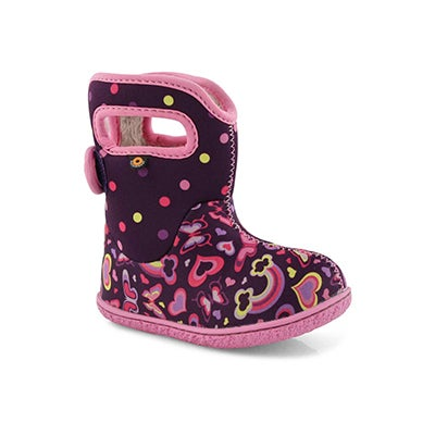 Inf-g Baby Bogs Rainbows ppl mlti boot