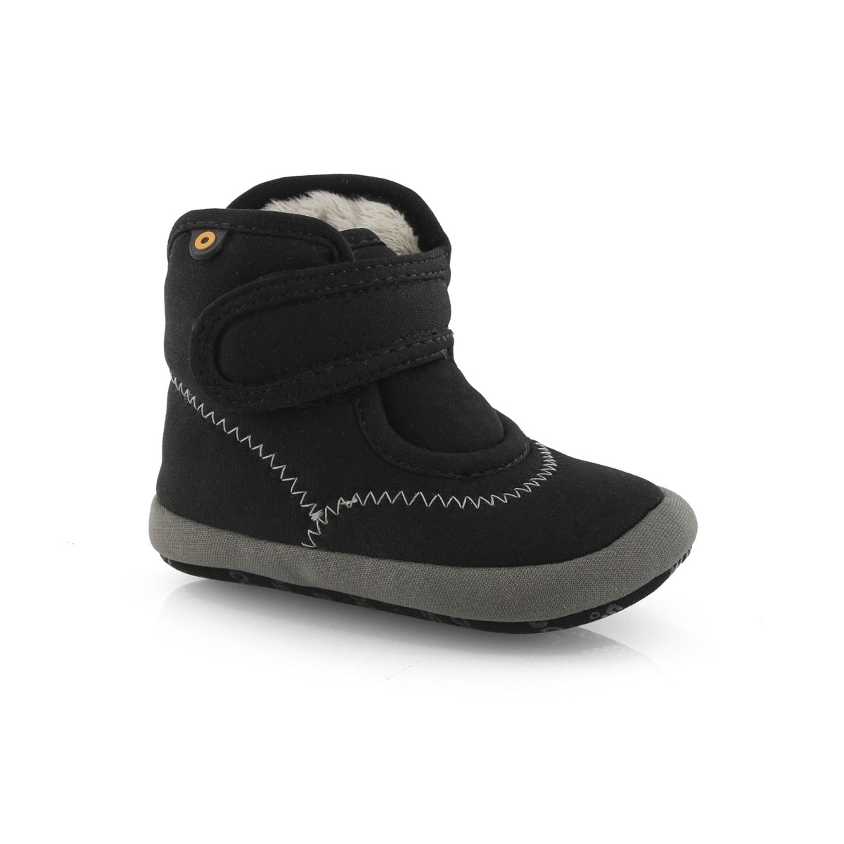 Inf-b Elliot II Solid blk slip on boot