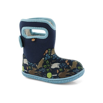 Inf-g BabyBogs Woodland Friends blu boot