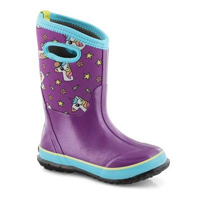 Grls ClassicDesignABootUnicorns ppl boot