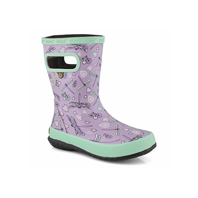 Inf-g Skipper Dragonfly lav/mlt rainboot