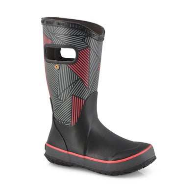 Bys Rainboot Big Geo blk/mlti rain boot
