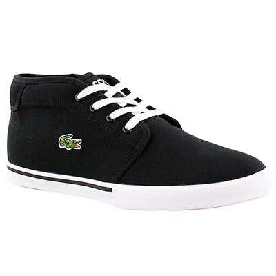 Lacoste Men's AMPTHILL 2 black fashion sneakers