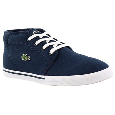 Lacoste Men's AMPTHILL 2  dark blue fashion sneakers