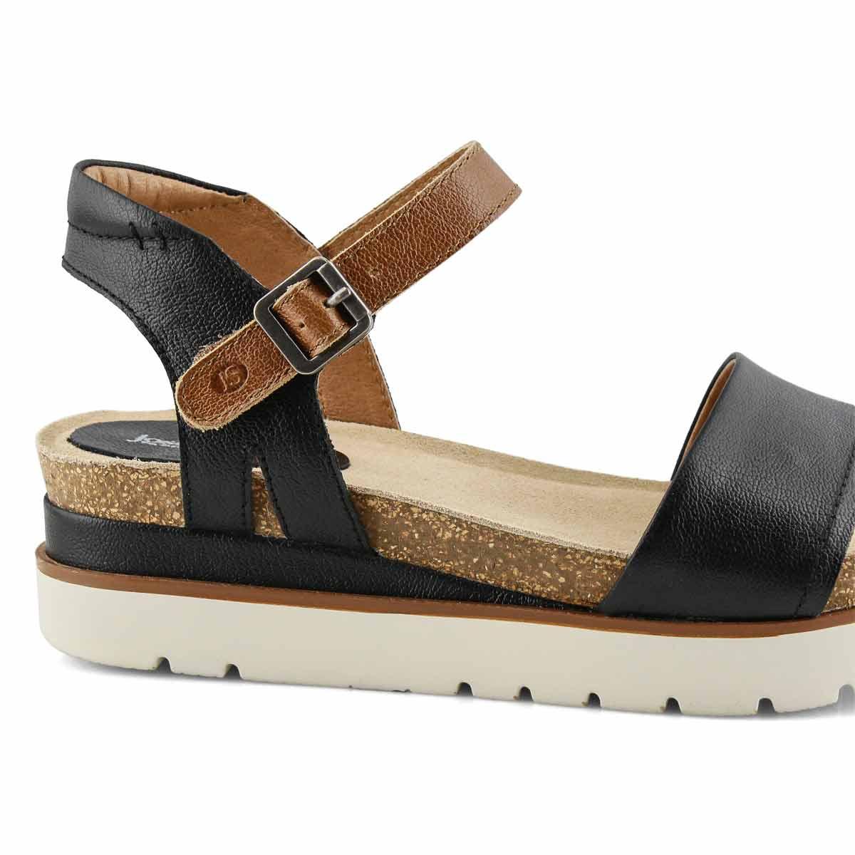 Lds Clea 01 black casual sandal