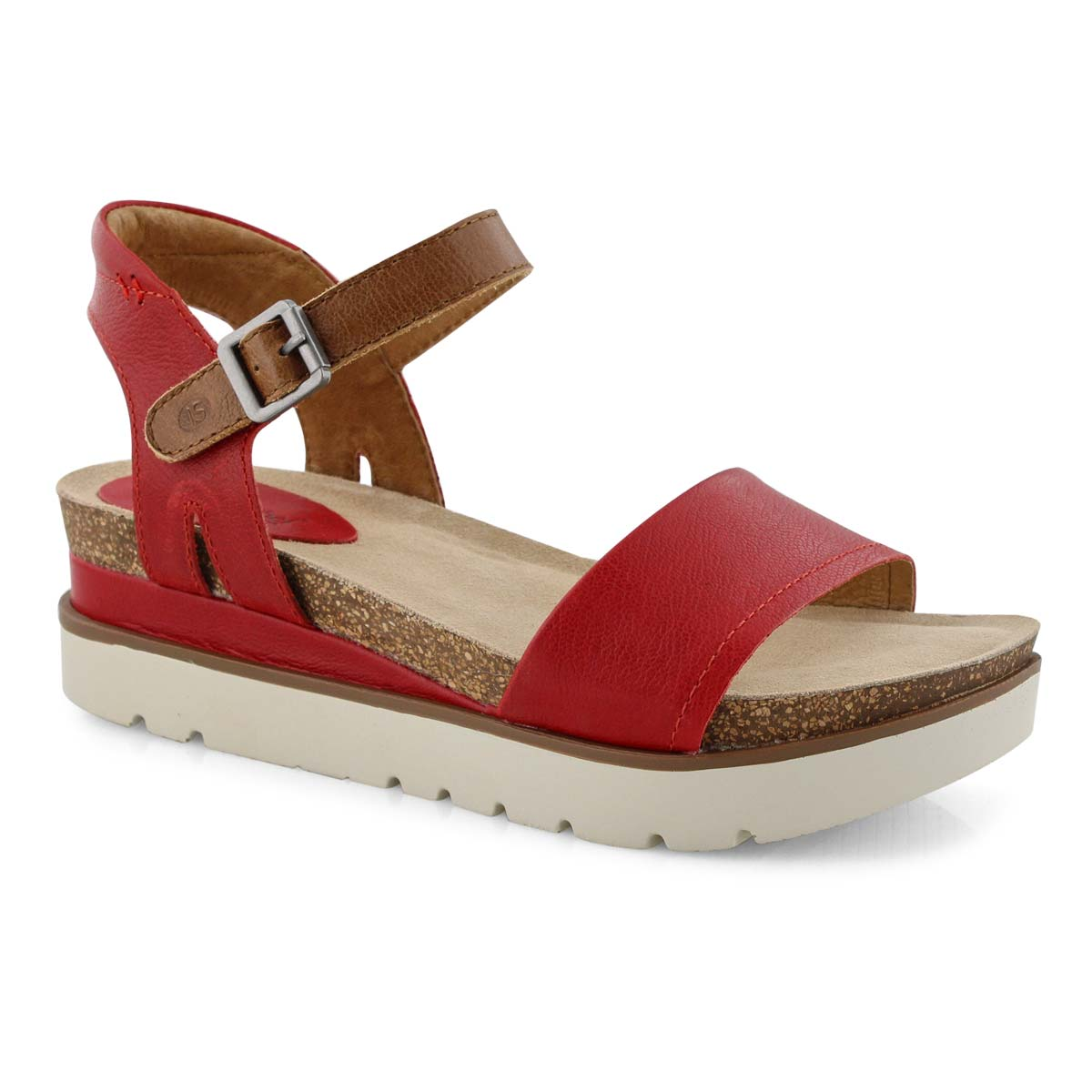 Lds Clea 01 red casual sandal