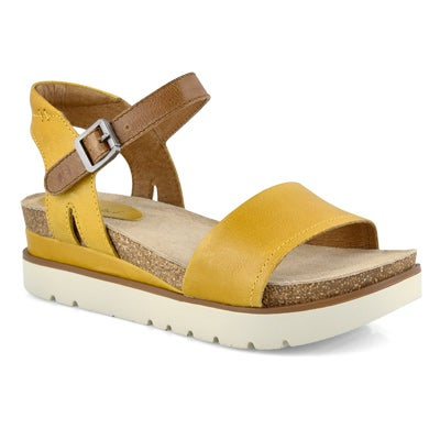 Lds Clea 01 yellow casual sandal