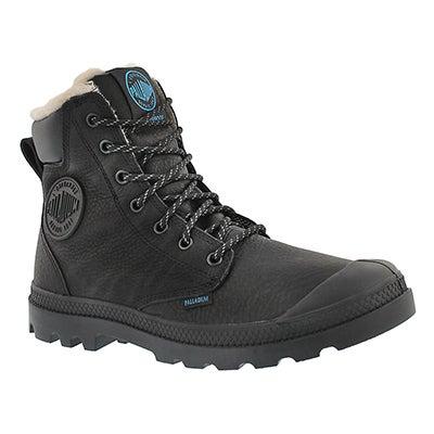 Mns Pampa Sport Cuff blk wtpf lined boot