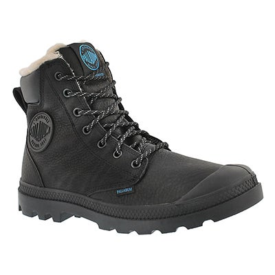Palladium Men's PAMPA SPORT CUFF blk waterproof lined boots