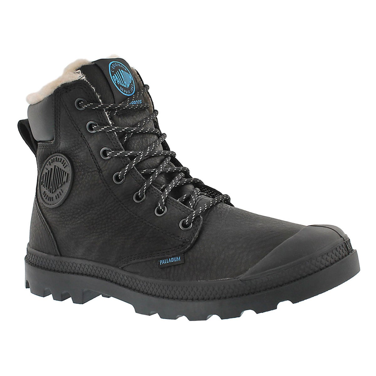Men's PAMPA SPORT CUFF blk waterproof lined boots