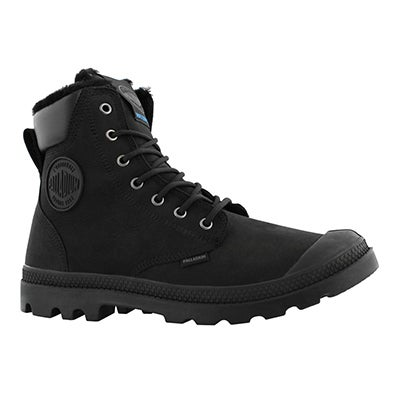Mns Pampa Sport Cuff bk/bk wp lined boot