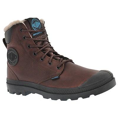 Palladium Men's PAMPA SPORT CUFF brn waterproof lined boots