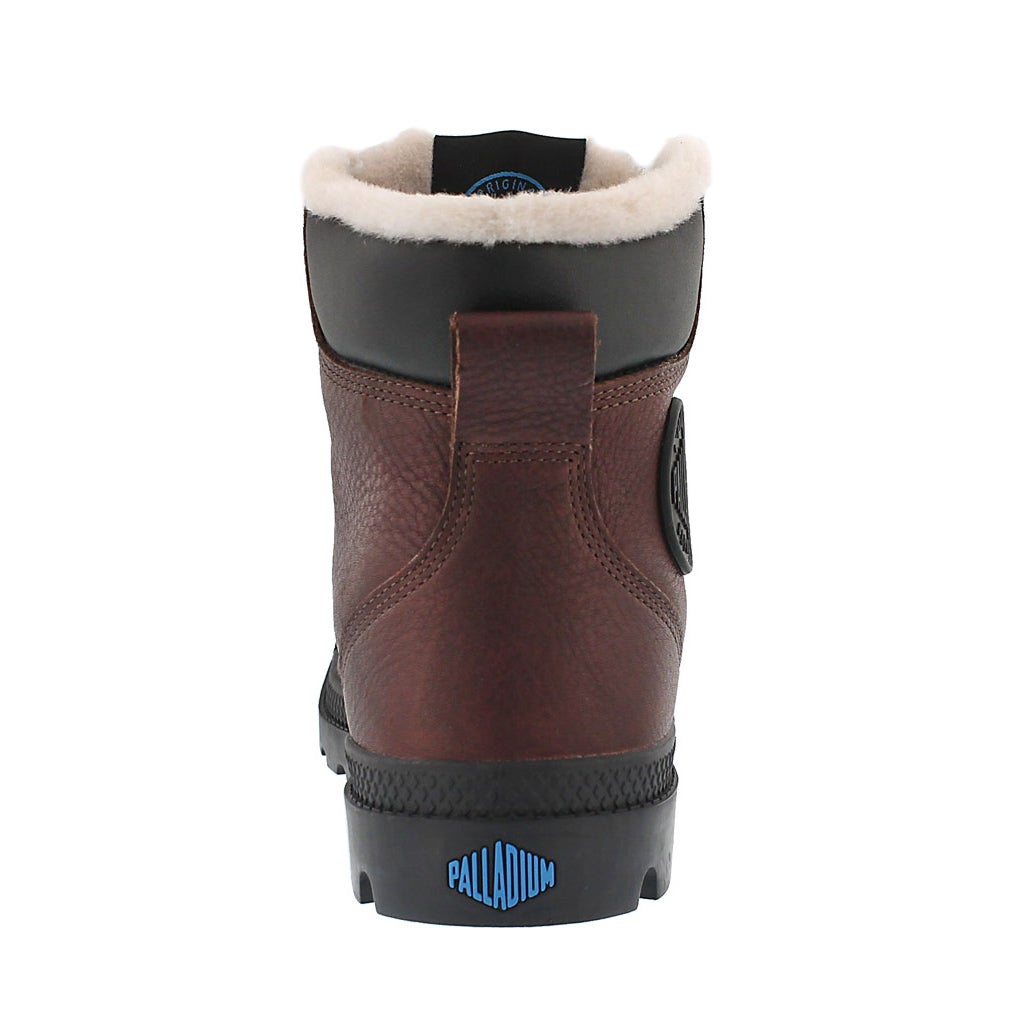 Mns Pampa Sport Cuff brn wtpf lined boot