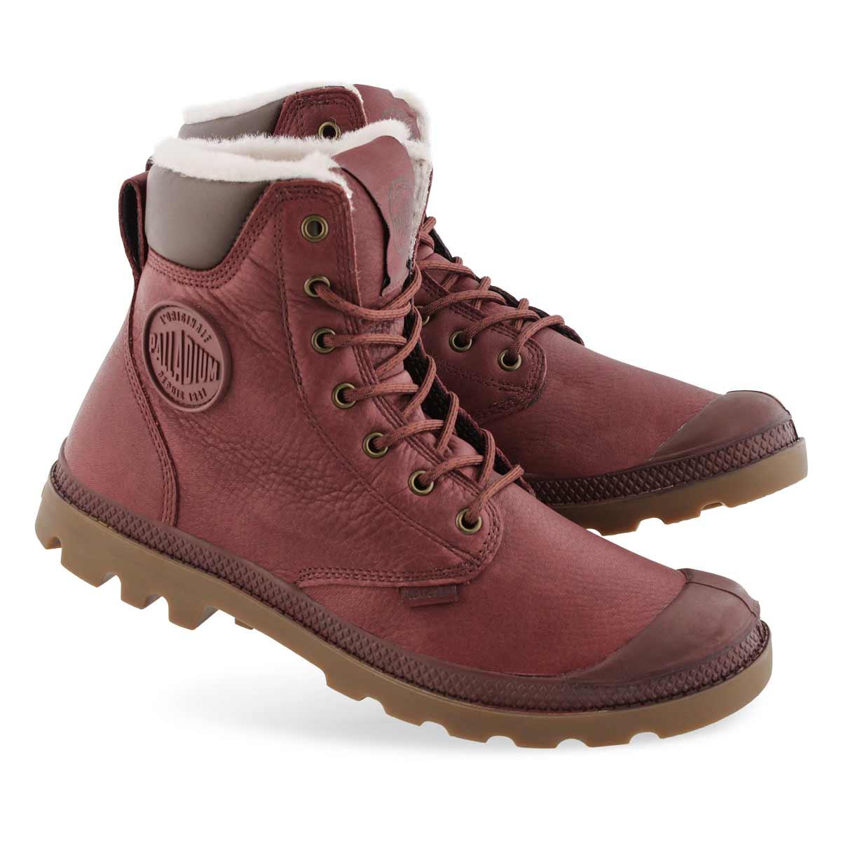 Mns PampaSportCuff ochre wp lined boot