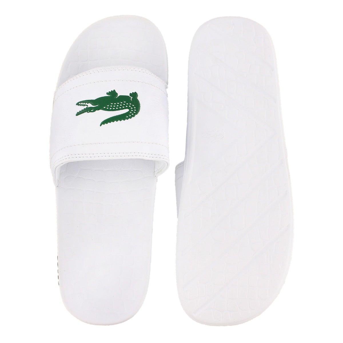 Mns Fraisier white slide sandal