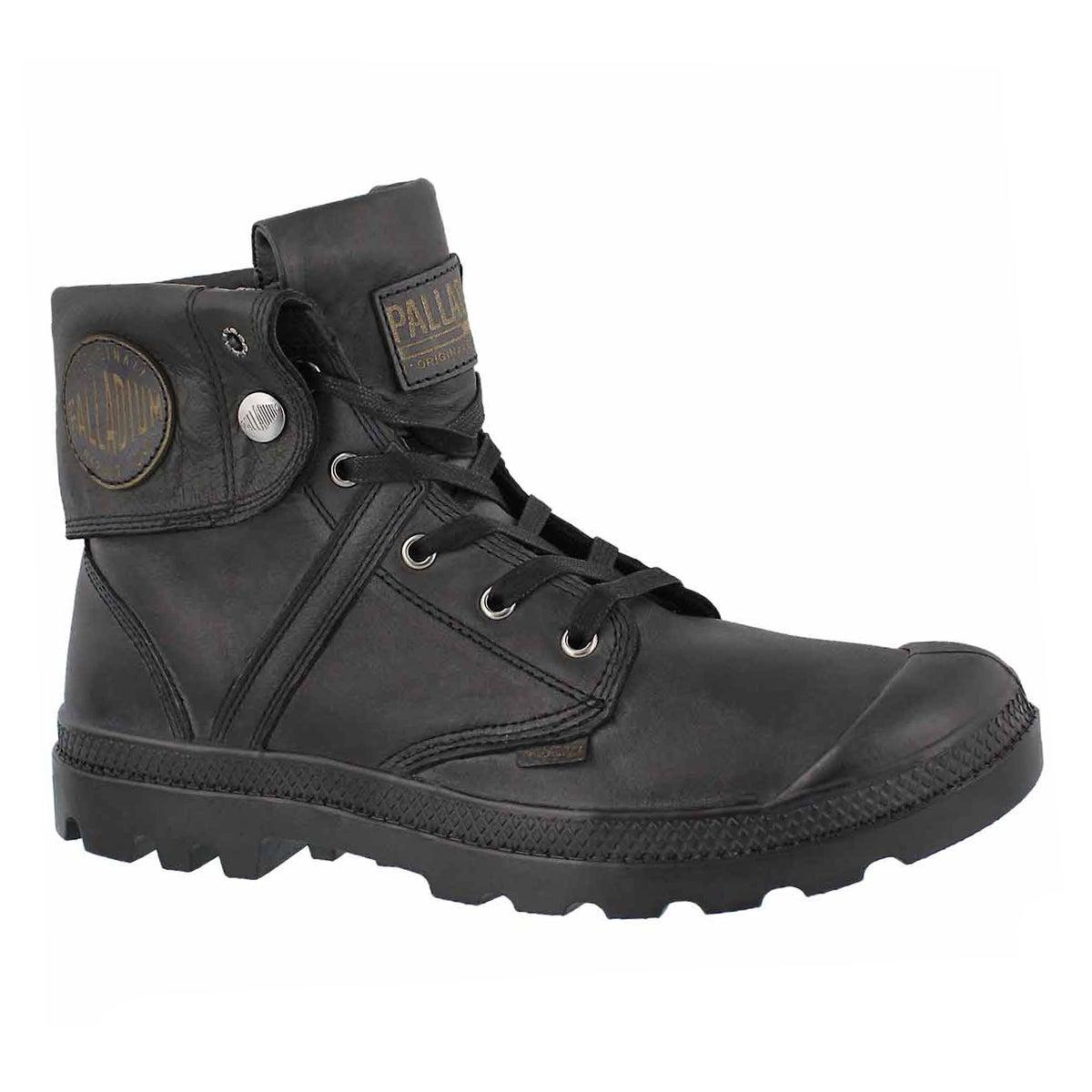 Men's PALLABROUSE BAGGY L2 black ankle boots