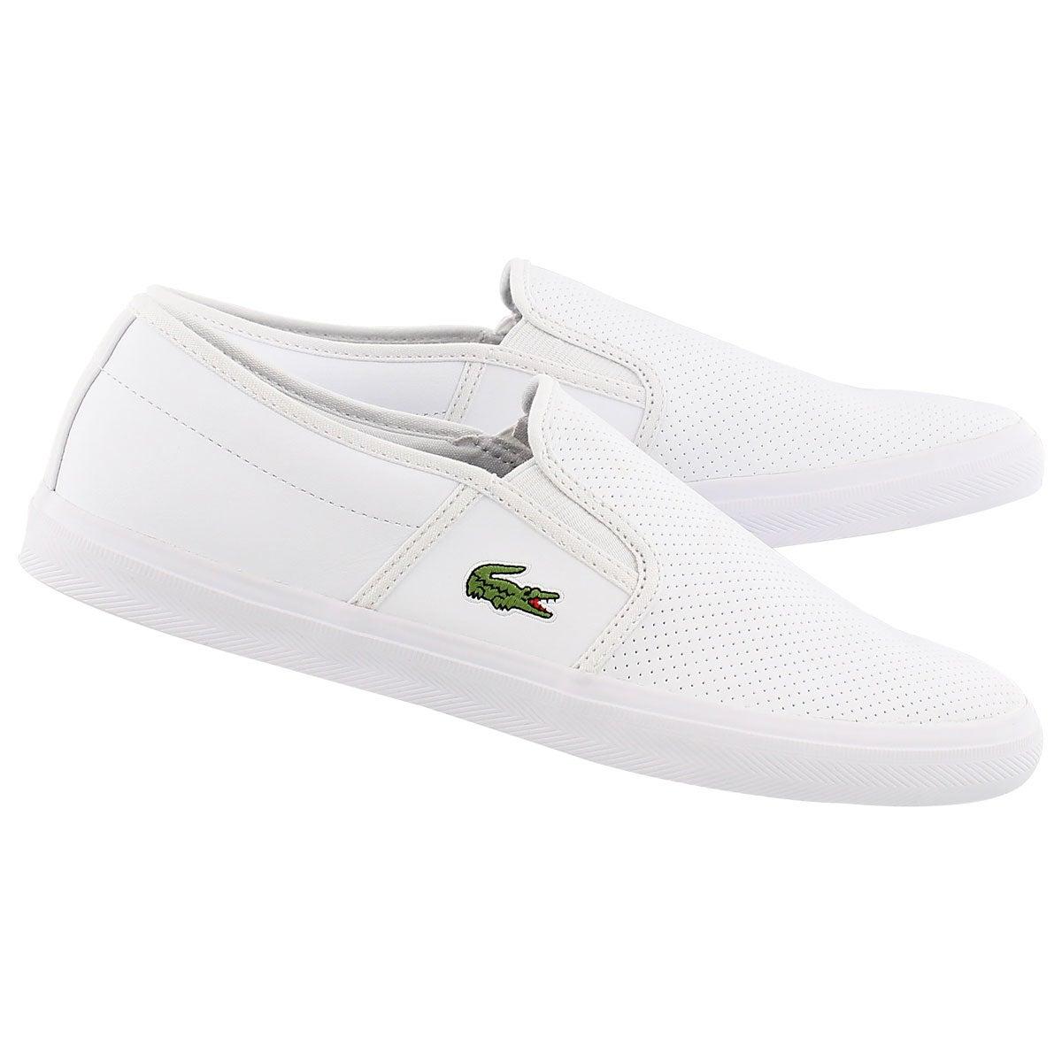 Mn Gazon Sport wht casual sneaker
